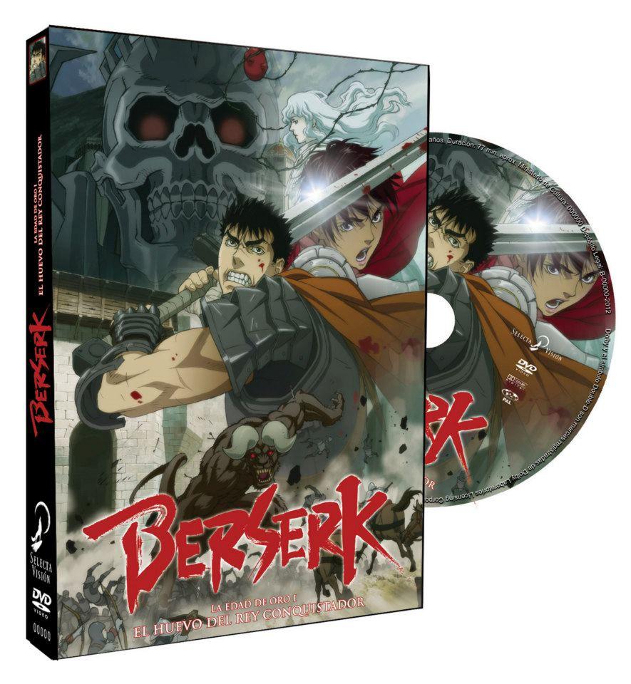 berserk pelicula huevo rey DVD selecta
