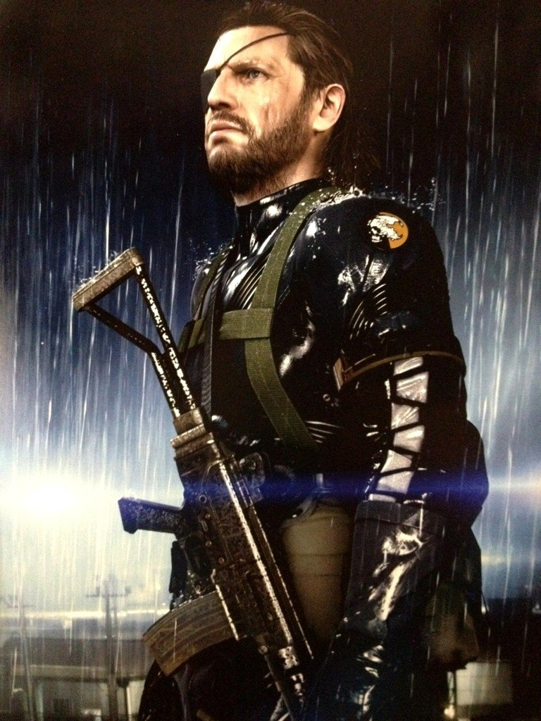 big boss metal gear solid ground zeroes El Big Boss de Metal Gear Solid: Ground Zeroes no es tan viejo