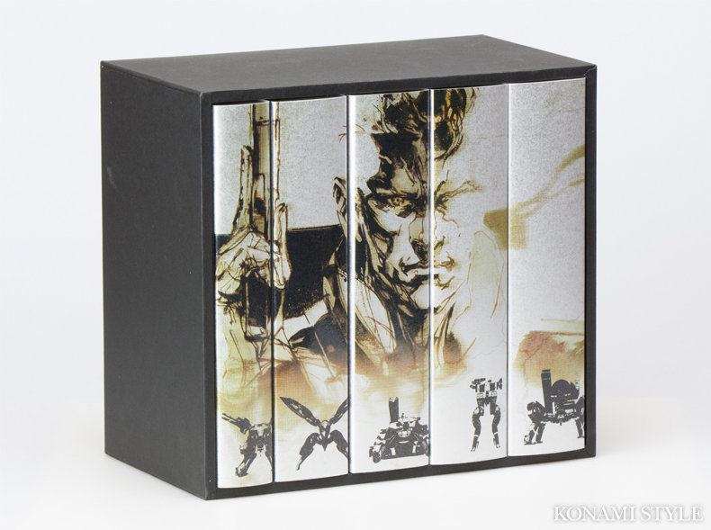 metal gear solid collection 04 25th Anniversary Metal Gear Solid Collection, una edición solo para coleccionistas