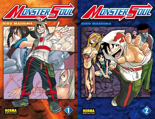 monster soul Norma licencia 'Monster Soul' de Hiro Mashima