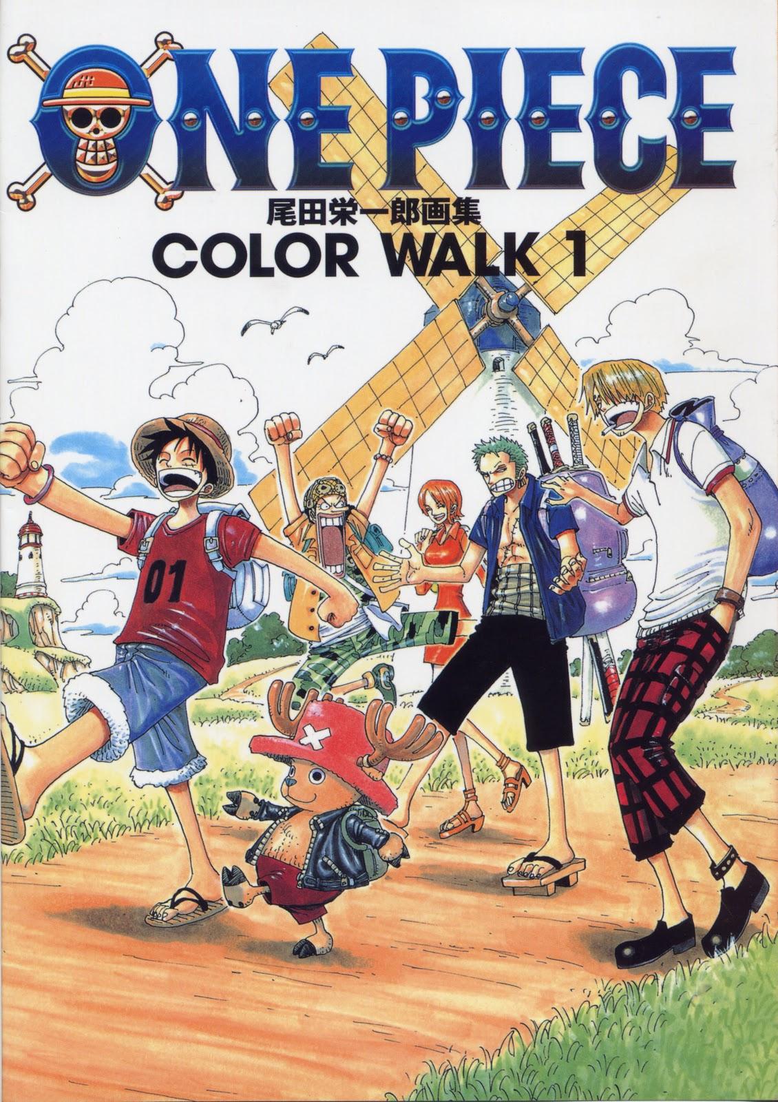 one piece color walk 1 planeta