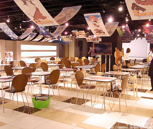 yuriyuri cafe 01 Good Smile Café se transforma en una cafetería de YuruYuri