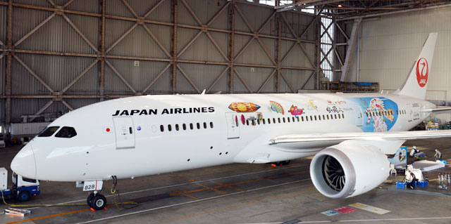Studio Ghibli decora la aerolínea Japan Airlines
