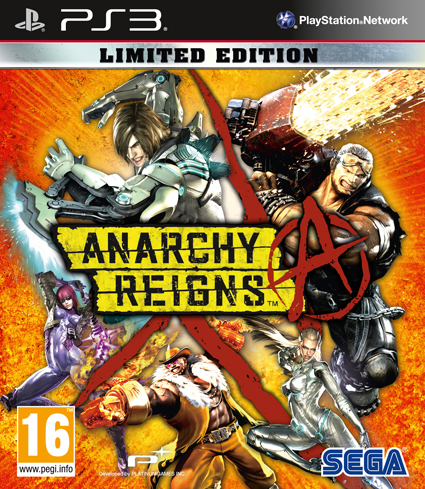 anarchy reigns limited edition pal cover