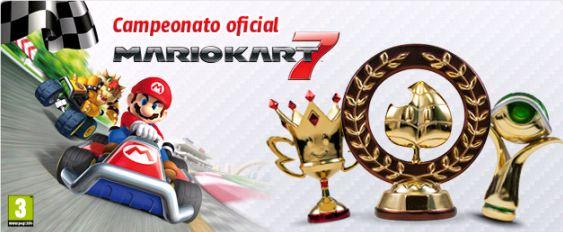 campeonato oficial mario kart 7