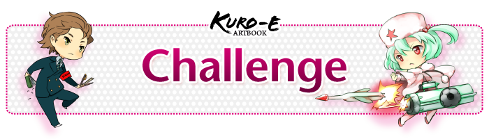 kuro-e artbook challenge