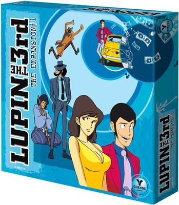 lupin III juego mesa
