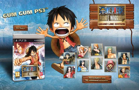 one piece pirate warriors grand line edition