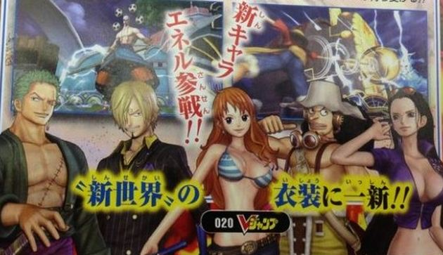 One Piece Pirate Warriors 2 crew