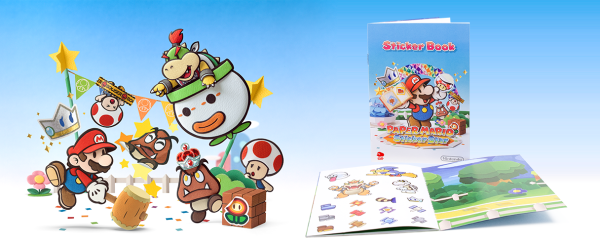 paper mario sticker star album pegatinas