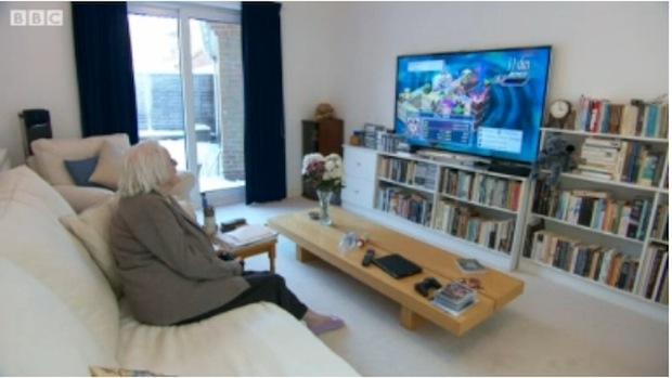 Anciana gamer de 86 años