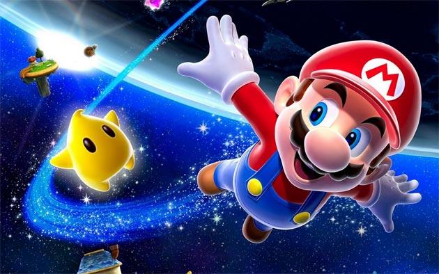 Ilustración de Mario Galaxy