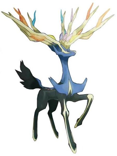 Xerneas 01 Legendarios de Pokémon X y Pokémon Y: Xerneas e Yveltal