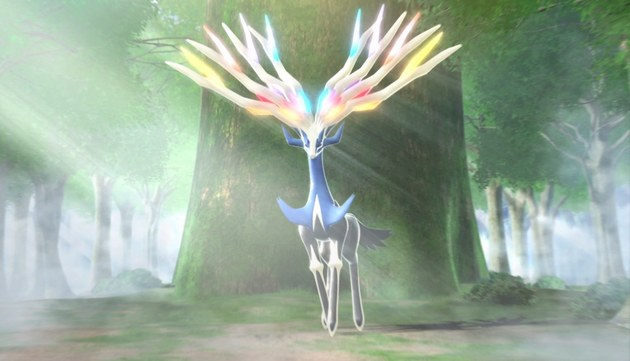 Xerneas 02 Legendarios de Pokémon X y Pokémon Y: Xerneas e Yveltal
