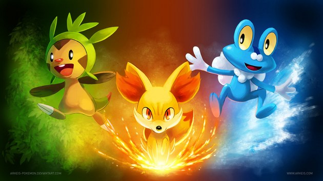 pokemon x y starters Legendarios de Pokémon X y Pokémon Y: Xerneas e Yveltal