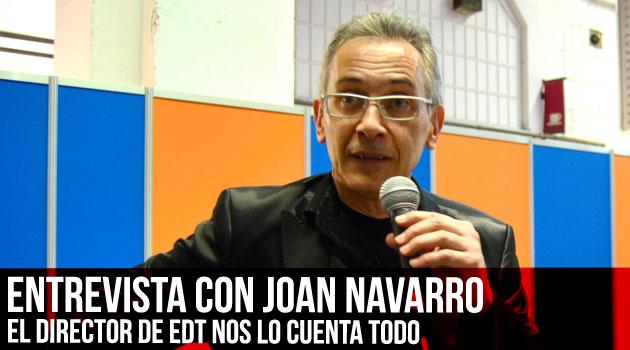 Entrevista con Joan Navarro