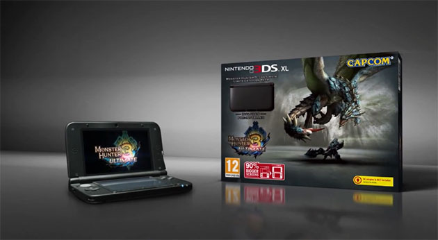 Monster Hunter 3 Ultimate 3DS pack Fecha para Monster Hunter 3 Ultimate, packs de Nintendo 3DS XL y Wii U