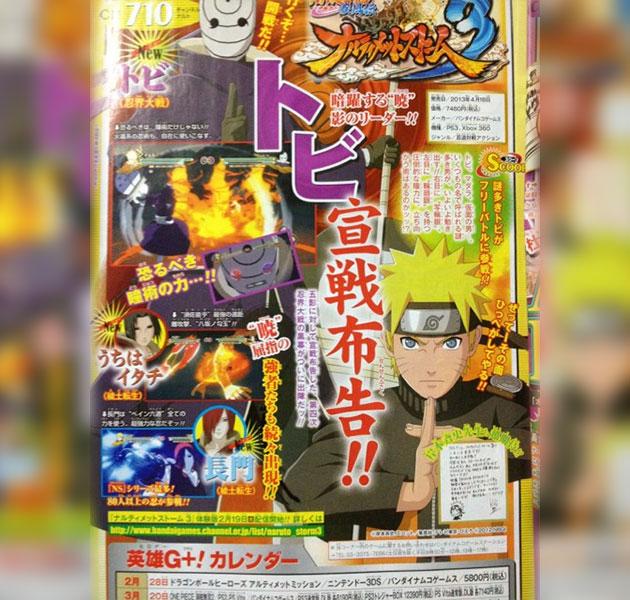Naruto Ninja Storm 3 Itachi Tobi Nagato