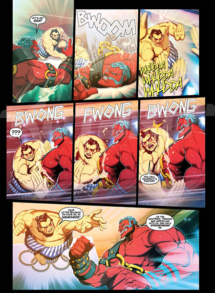 street fighter comic 2013