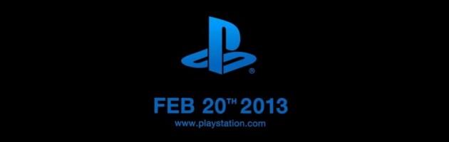 playstation feb 2013 e1359742678726 SONY podría presentar PlayStation 4 el 20 de febrero