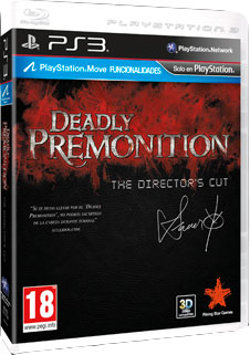 Deadly premonition pal esp cover BadLand Games trae Deadly Premonition: The Directors Cut a España