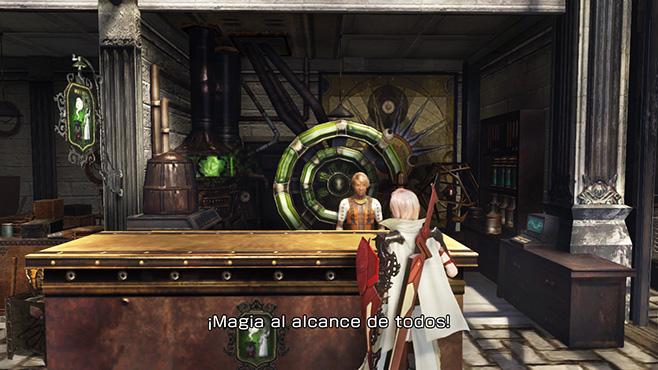Lightning Returns Final Fantasy XIII Tienda Habilidades