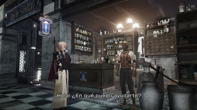 Lightning Returns Final Fantasy XIII Tienda Objetos