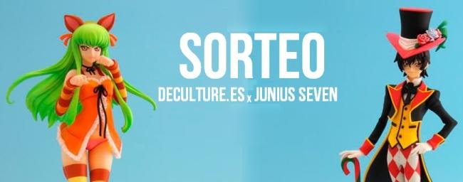 sorteo junius seven x deculture
