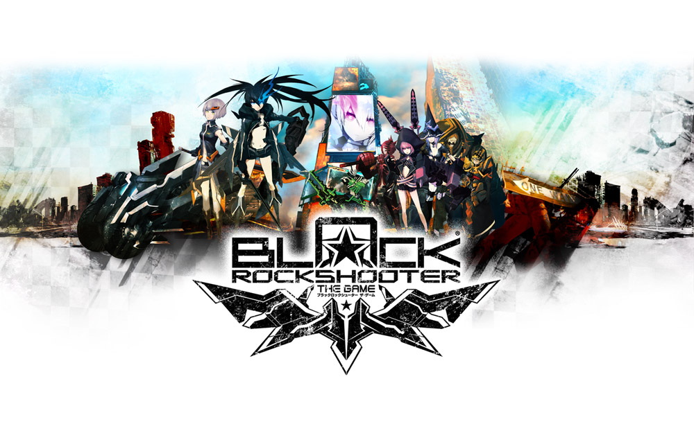Black Rock Shooter The Game Key Art