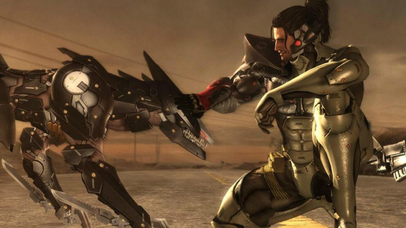 Jetstream Sam DLC Metal Gear Rising Revengeance