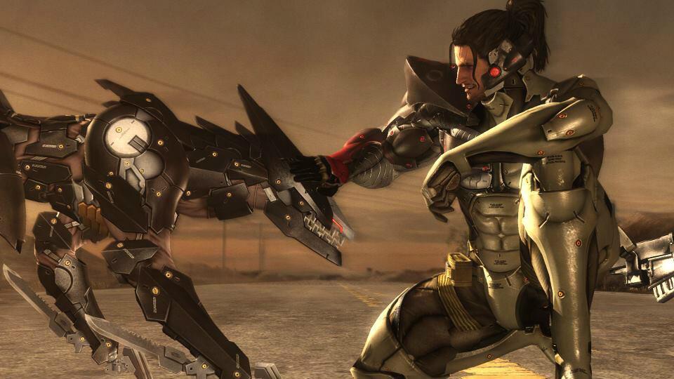 Jetstream Sam DLC Metal Gear Rising Revengeance