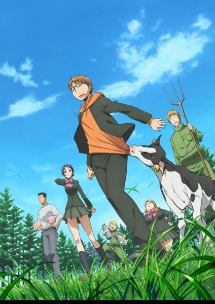 silver spoon anime visual 424x600 Anime de Silver Spoon: diseños de personajes