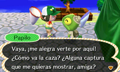 Animal Crossing New Leaf espanol 01 Jugando a... Animal Crossing New Leaf