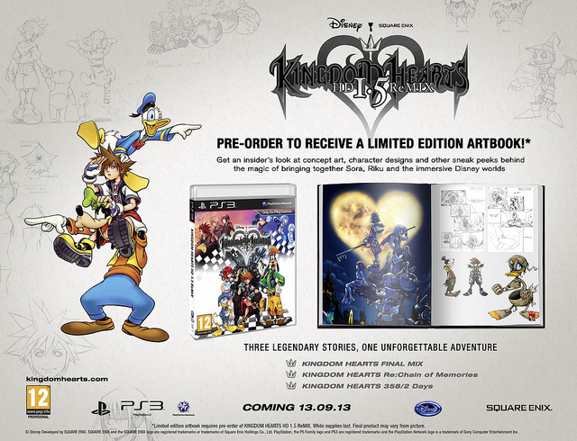 Kingdom Hearts HD 1 5 Remix reserva EU