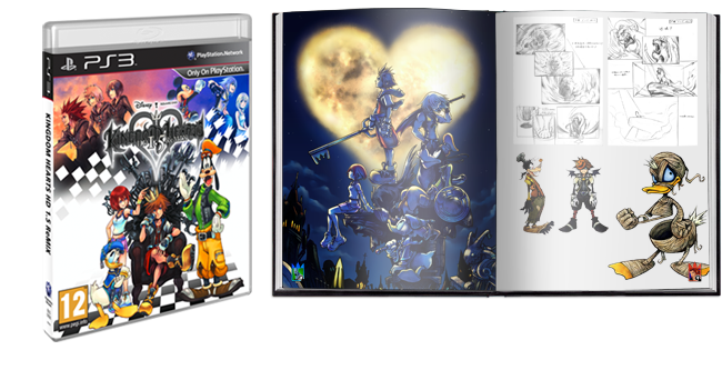 Kingdom Hearts hd 1 5 remix artbook