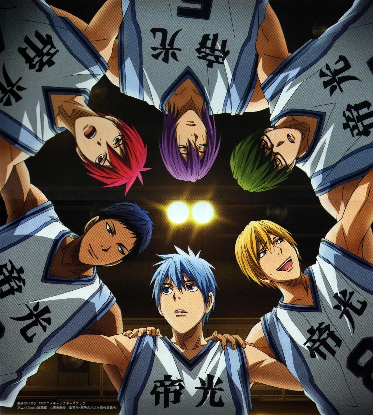 La segunda temporada de 'kuroko no basket' llega en octubre de