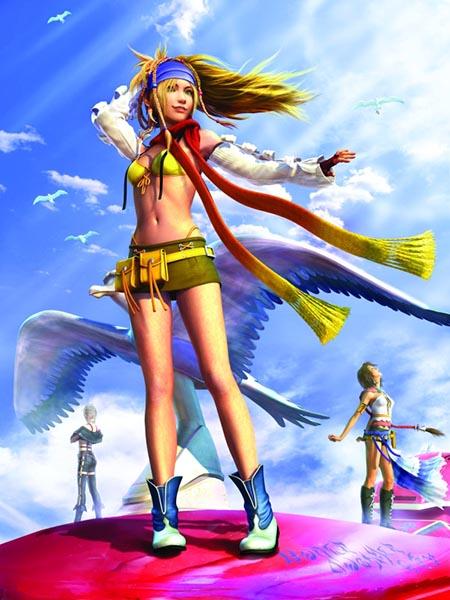 Rikku Render Final Fantasy X 2 HD Remaster