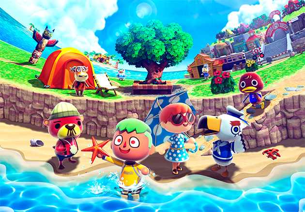 animal crossing new leaf verano Jugando a... Animal Crossing New Leaf