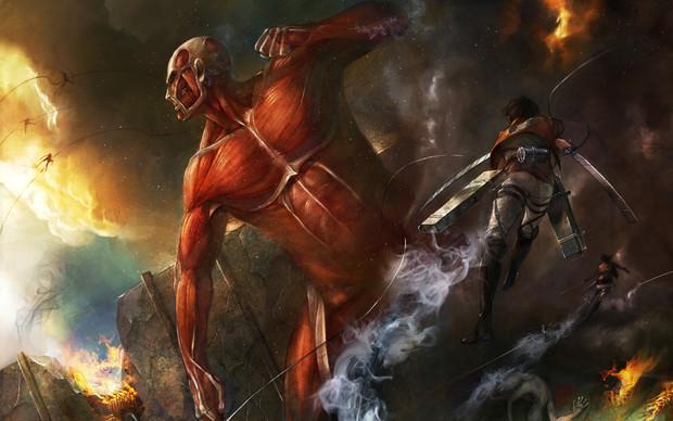 ataque a los titanes artwork