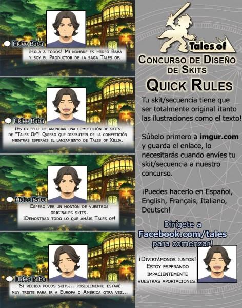 concurso tales of skit