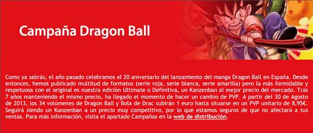 dragon ball sube precio Dragon Ball Ultimate Edition sube de precio