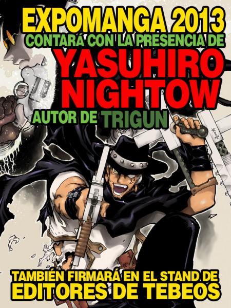 firmas yasuhiro nightow trigun