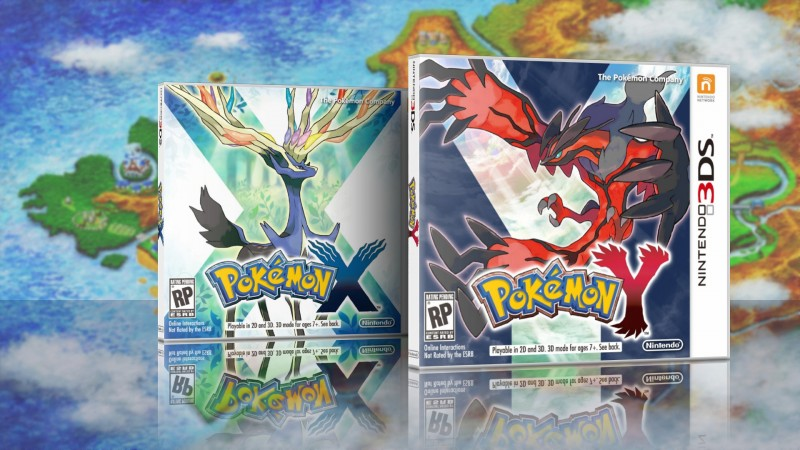 pokemon x y cover USA