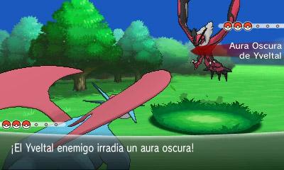 Aura Oscura Yveltal Pokemon X Y