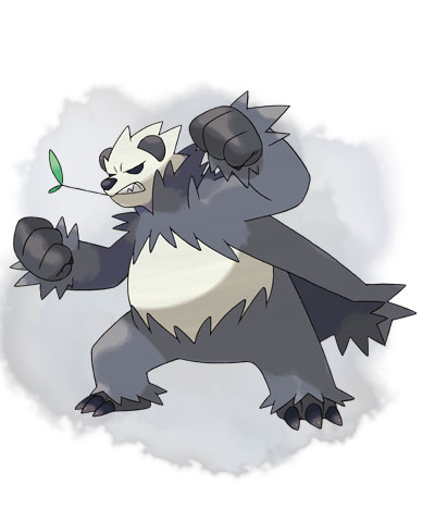 Pangoro Pokemon X Y 01