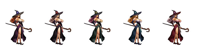 Post -- Dragon's Crown Pro - 2018 en PS4 con resolución 4K  - Página 3 Hechicera-paleta-colores-dragons-crown