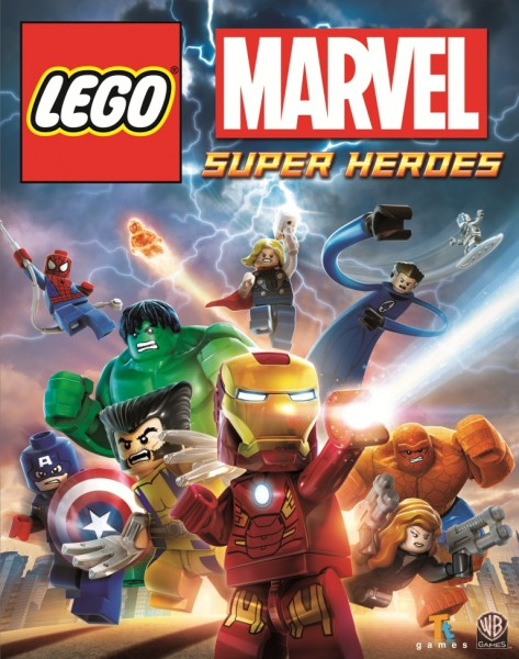 lego marvel super heroes pal cover