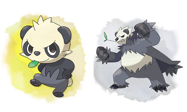 pancham-pangoro-pokemon-x-y