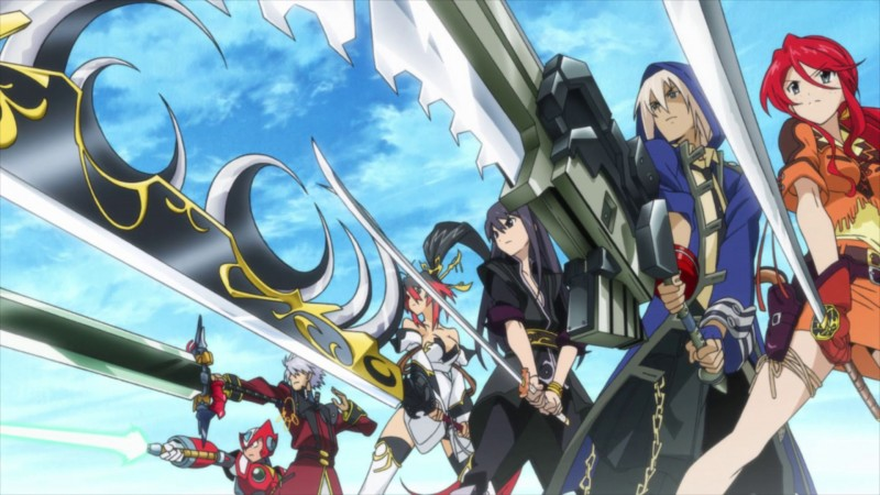 project x zone swords