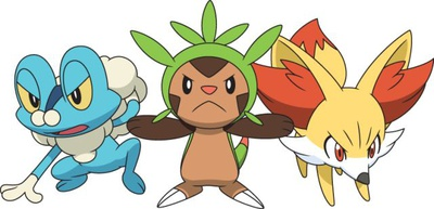 starters pokemon xy